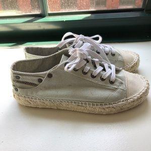 Diesel espadrille sneakers size 40/10